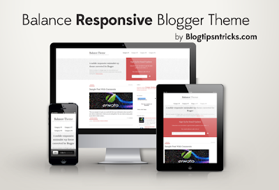 Download Balance Free Responsive Blogger Template Design