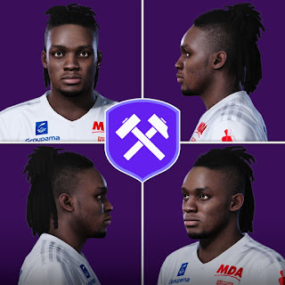 PES 2020 Faces Bertrand Traoré by Volun