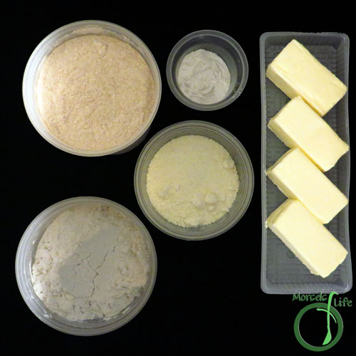 Morsels of Life - Instant Flour Mix (DIY Bisquick) Step 1 - Gather all materials.