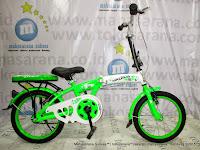 Sepeda Lipat Anak Evergreen Maximus 16 Inci
