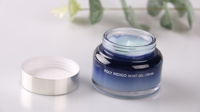 kandungan poly indigo moist gel cream alami