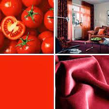 Decoración con rojo
