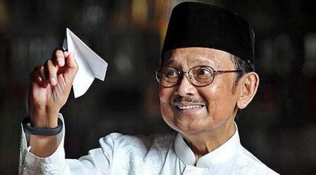 Biografi Singkat BJ Habibie, Mantan Presiden RI Ke 3