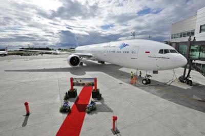 Gambar Pesawat Garuda Indonesia Terbesar