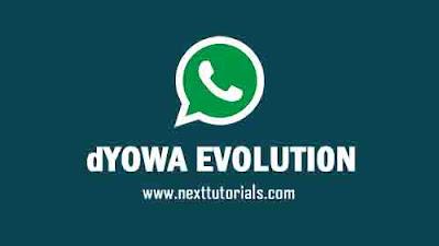 WhatsApp Mod dYOWA v45 Apk Download Latest Version Android,instal Aplikasi dYOWA Evo Terbaru 2021,dyowa ios,tema dyowa keren,dyowhatsapp anti banned