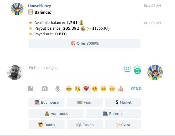 House_Money_Telegram_Bot