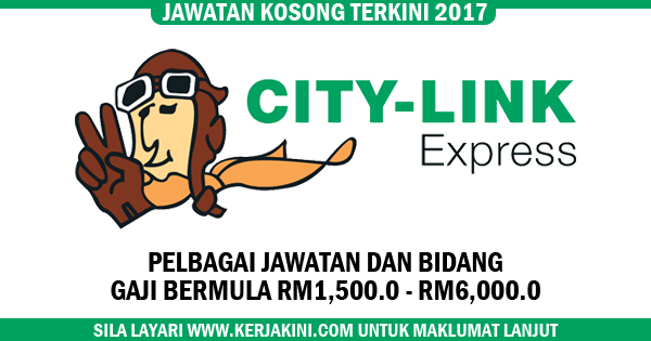 jawatan kosong city link express