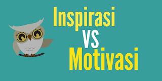 Perbedaan antara motivasi dengan inspirasi