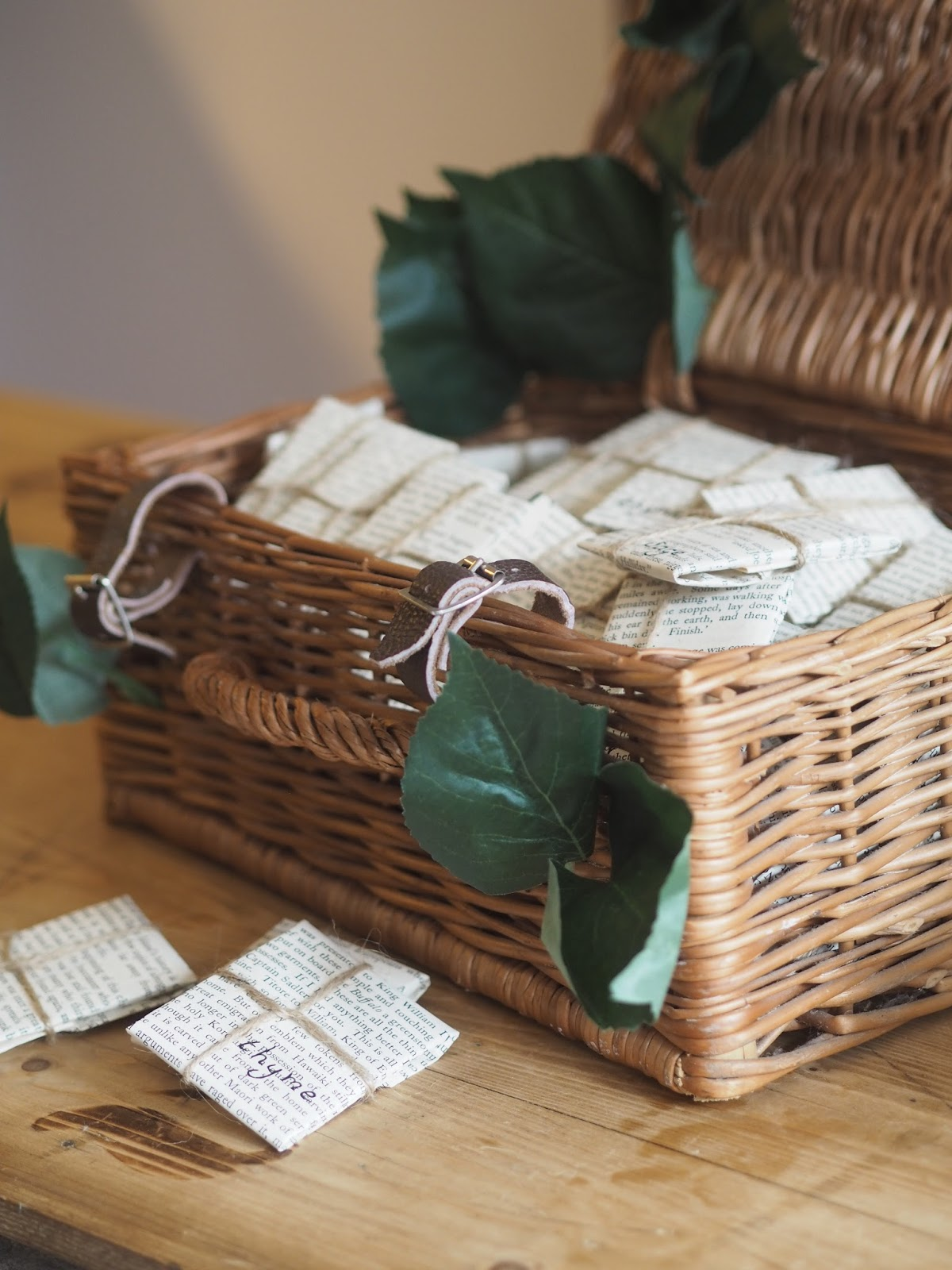 DIY Wedding Party Favours