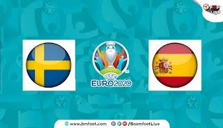 مباراة اسبانيا و السويد بث مباشر