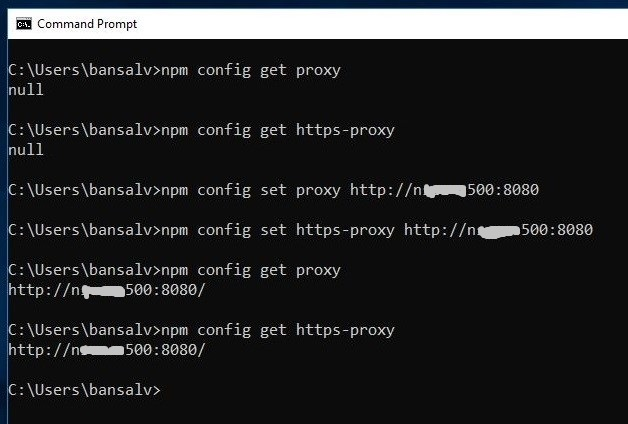 Blogs2Share: SPFx Environment Setup Error