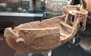 Cyprian Bronze Age ship model