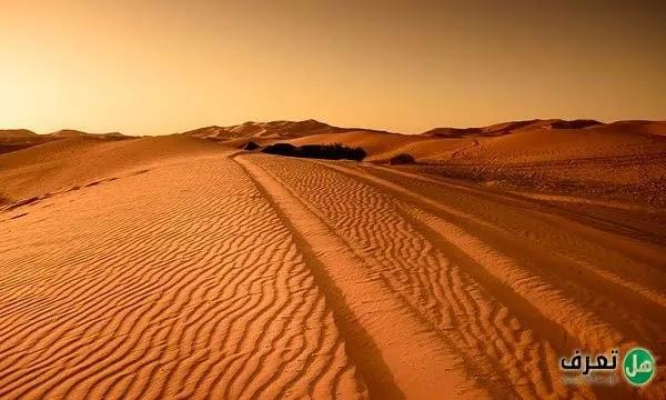 اكبر صحراء في العالم