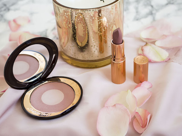 Charlotte Tilbury Pillow Talk Blush Cheek to Chic & Matte Revolution Lipstick