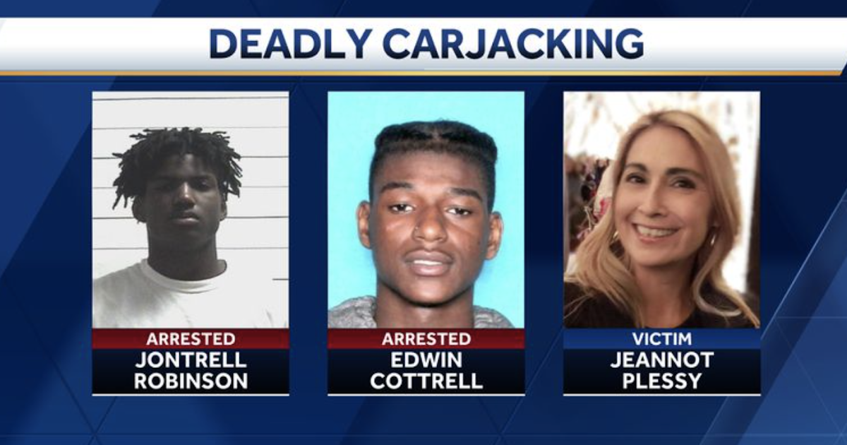 "Her Name is Jeannot Plessy: White Pastor's Wife (a Mother of Five) Murdered in New Orleans by Three Black Teenagers in ""Carjacking Gone Wrong"""