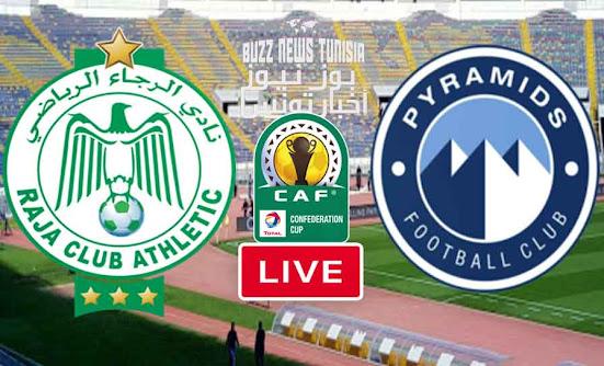 Watch Match Raja Casablanca vs Pyramids Live Streaming