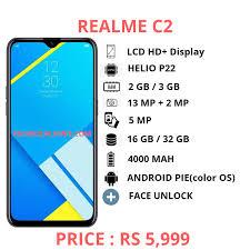 Realme C2 features