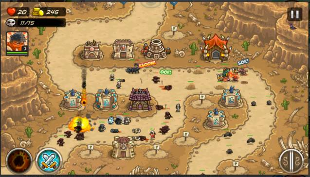 Game Strategi Perang Kerajaan Offline: Kingdom Rush Frontiers MOD APK