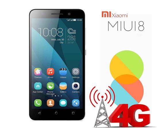 Mengatasi 4G / LTE hilang xiaomi redmi 3 (pro) tanpa root pada miui 8