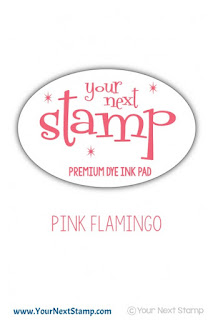 Premium Dye Ink Pad Pink Flamingo