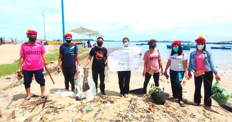 Hari Lingkungan Hidup, PMKRI Kota Jajakan Sibolga Lakukan Giat Bersih Pantai