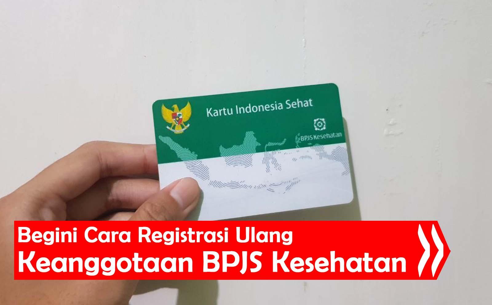 Registrasi BPJS Kesehatan