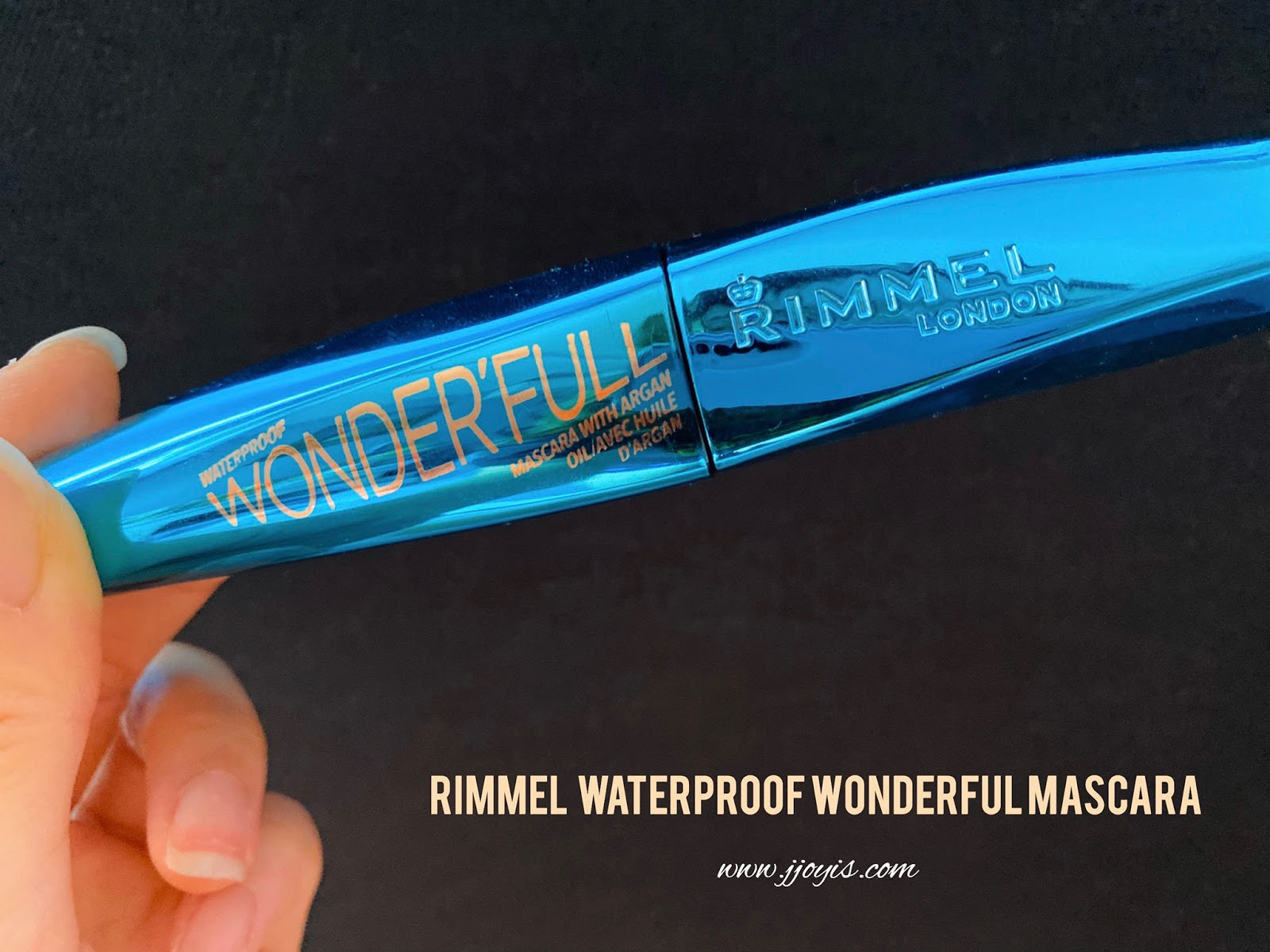 Rimmel, waterproof wonderful mascara with argan oil, waterproof mascara, reveiw