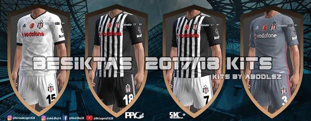 Beşiktaş JK 2017/18 Kit PES 2013