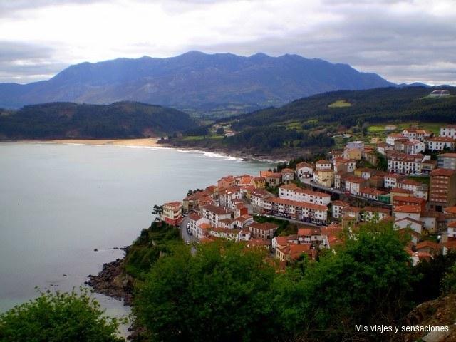 Mirador de San Roque, Lastres, Asturias