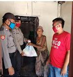 Polres Probolinggo Kota Bagikan Sembako
