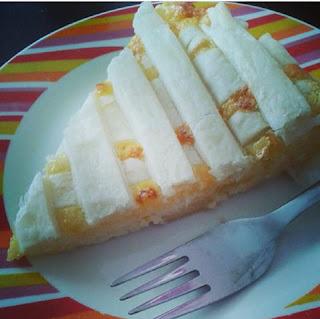 fertiger Topfenkuchen mit Vanille