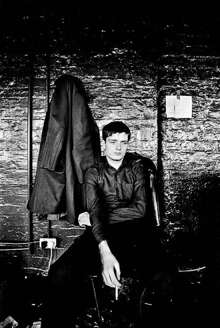 Ian Curtis by Kevin Cummings