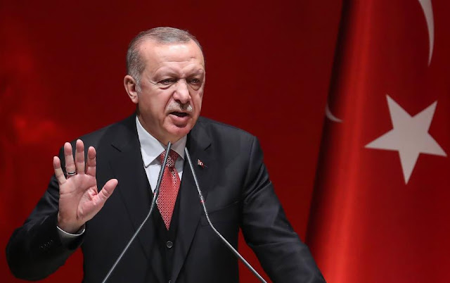Επιστολή στην ΕΕ με τα «θέλω» Ερντογάν