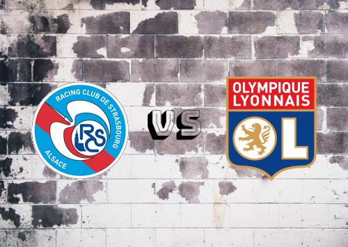 Strasbourg vs Olympique Lyonnais  Resumen
