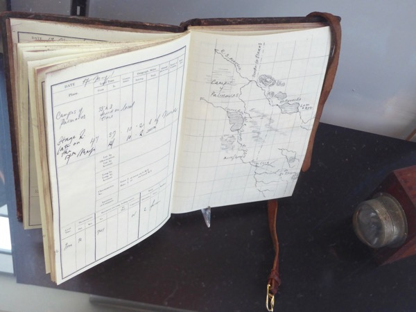 Lost City of Z book journal prop