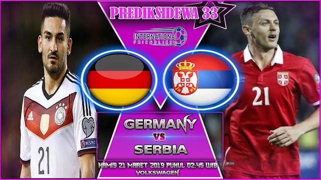 Prediksi Germany vs Serbia 21 Maret 2019