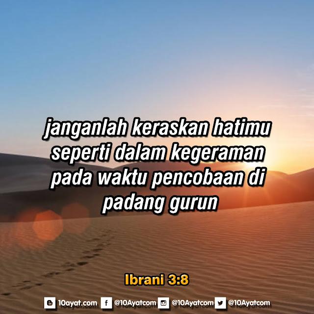Ibrani 3:8