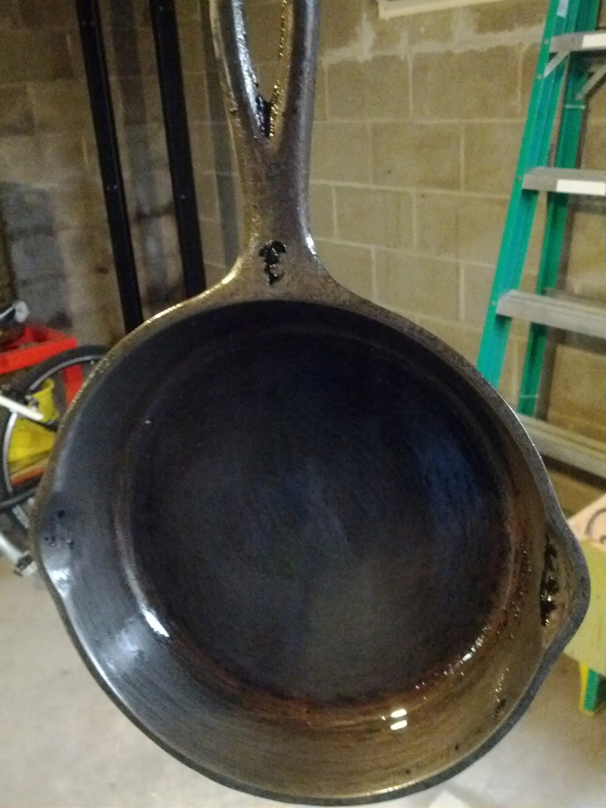 Curt Corwin's Blog: How to clean cast iron cookware with electrolysis