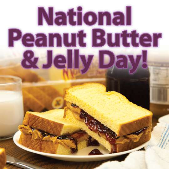 National Peanut Butter and Jelly Day Wishes Images