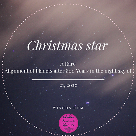 Christmas star A Rare Alignment of Planets