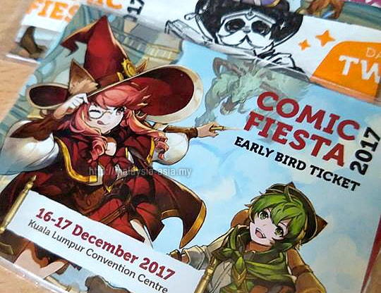 Tickets for Comic Fiesta 2017
