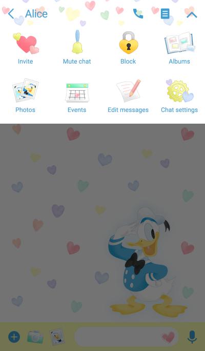 Donald Duck (Pastel Hearts)