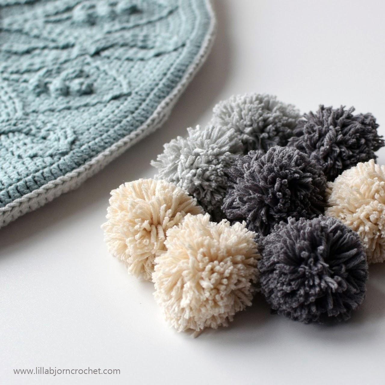 Sakura Cabled Mandala Pillow_crochet pattern by www.lillabjorncrochet.com