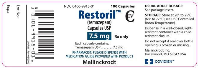 Restoril Temazepam como tratamiento para la ansiedad