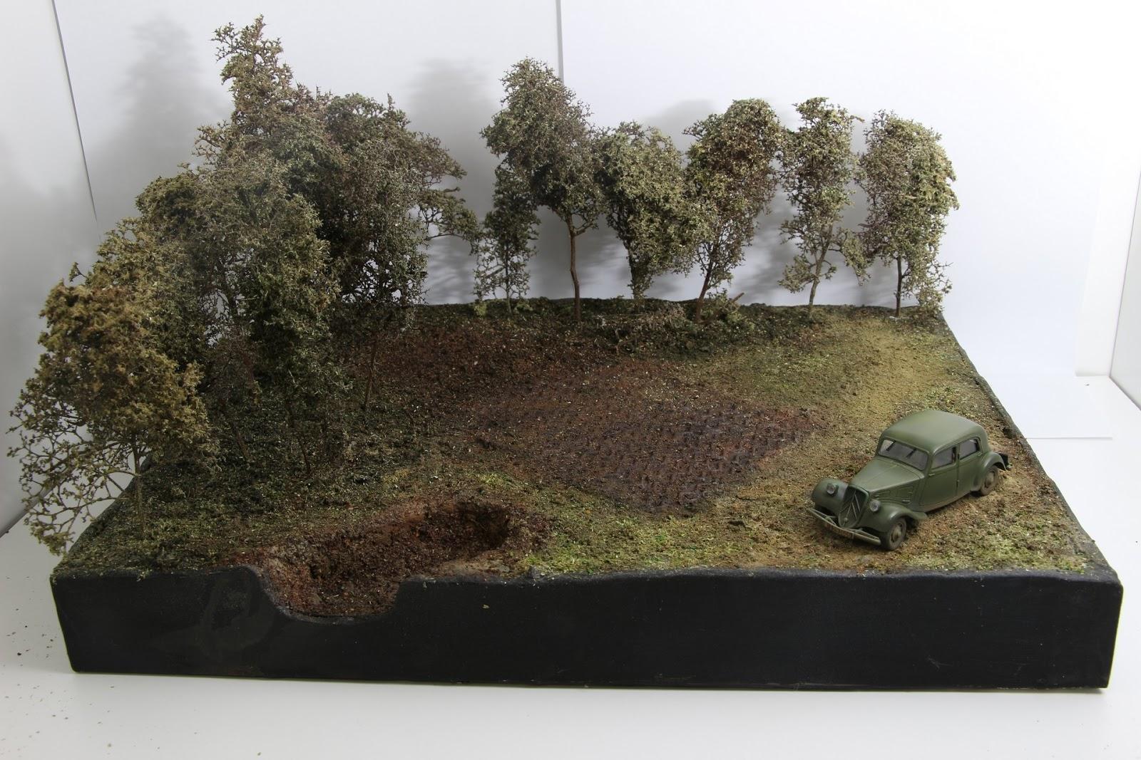 comment faire un diorama avec un dewoitine d 520