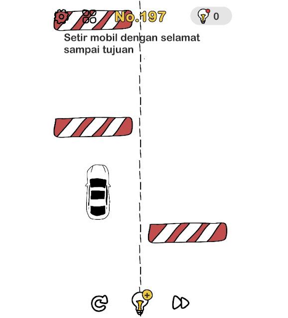 Setir mobil dengan selamat sampai tujuan
