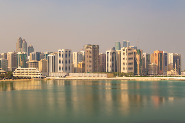 Panorama da Al Maryah Promenade-Abu Dhabi
