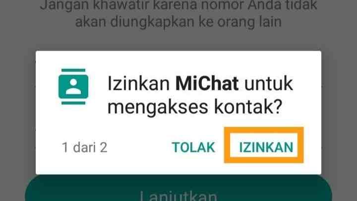 Cara mengetahui teman online di MiChat