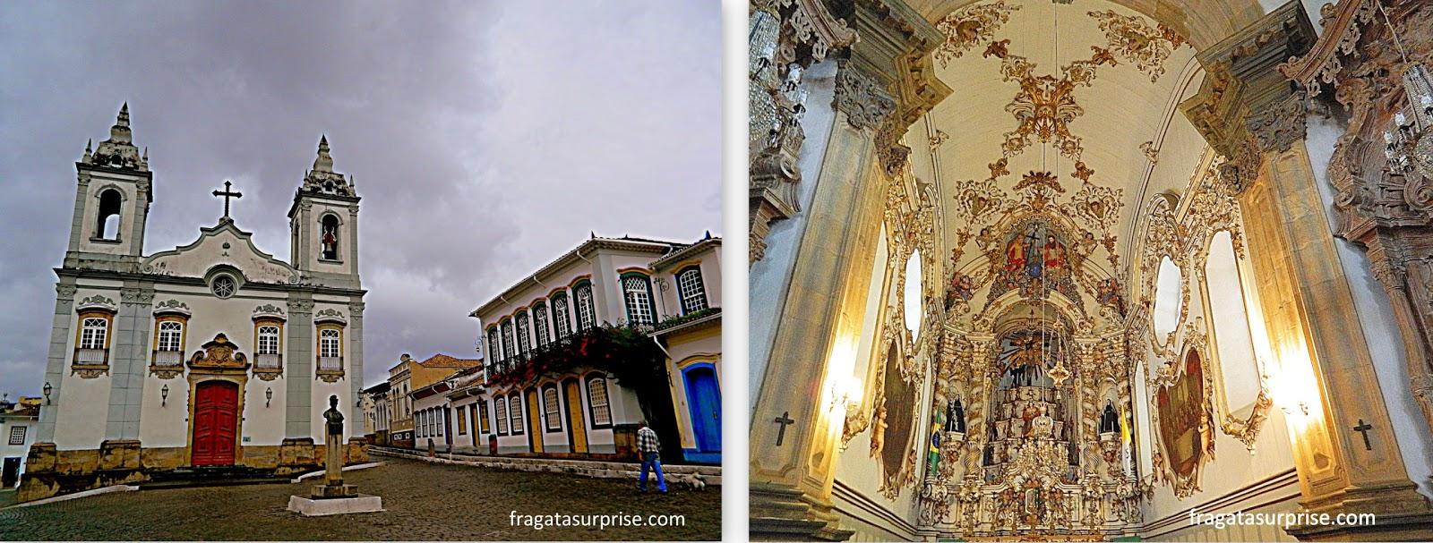 São João del Rei, igrejas do Rosário e de São Francisco