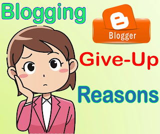 why give up Blogging